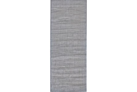 34X94 Rug-Orbit Grey