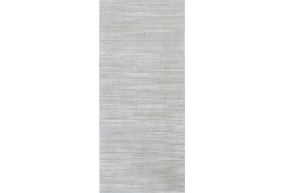 "2'8""x7'8"" Rug-Orbit White"
