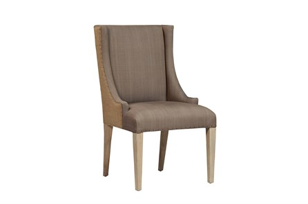 Mindi Wood Finish Chair - Main