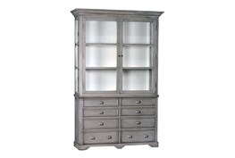 Bassalt Grey Accent Cabinet