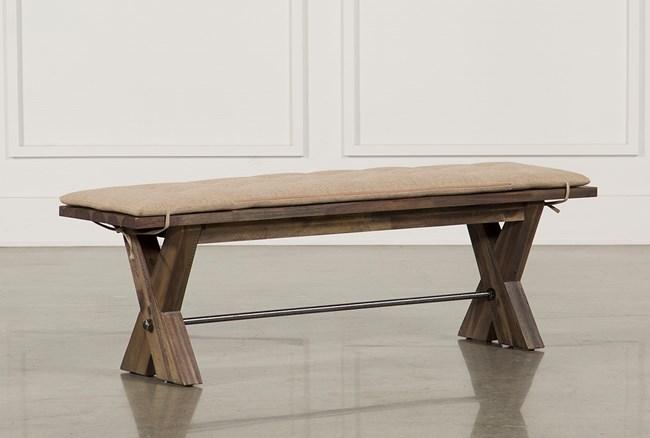 Mallard Bench W/Cushion - 360