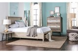 Allen Queen Panel Bed W/Storage - Room