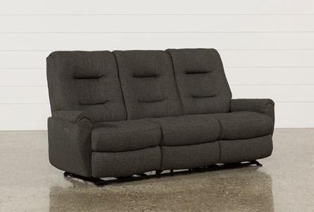 Jaden Fabric Power Reclining Sofa
