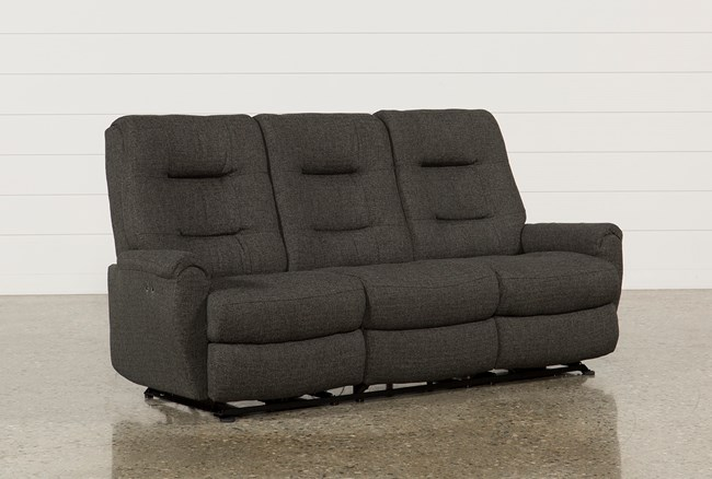 Jaden Fabric Power Reclining Sofa - 360