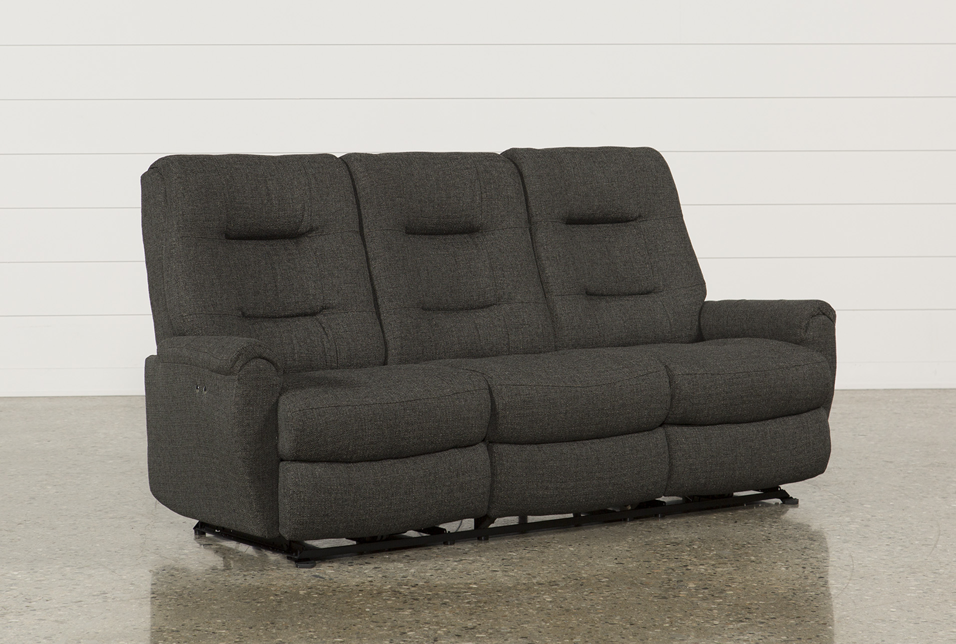 Display Product Reviews For JADEN FABRIC POWER RECLINING SOFA