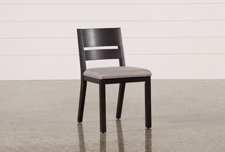 Modern Upholstered Seat Side Chair