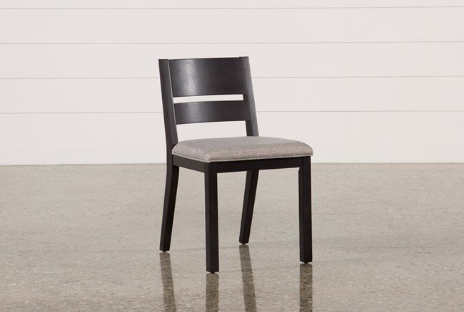 Modern Upholstered Seat Side Chair - 360