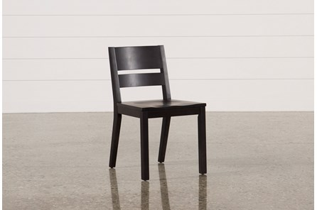 Modern Wood Seat Side Chair - Main