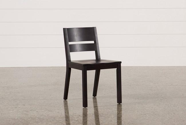 Modern Wood Seat Side Chair - 360