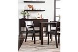 Modern Wood Seat Side Chair - Room
