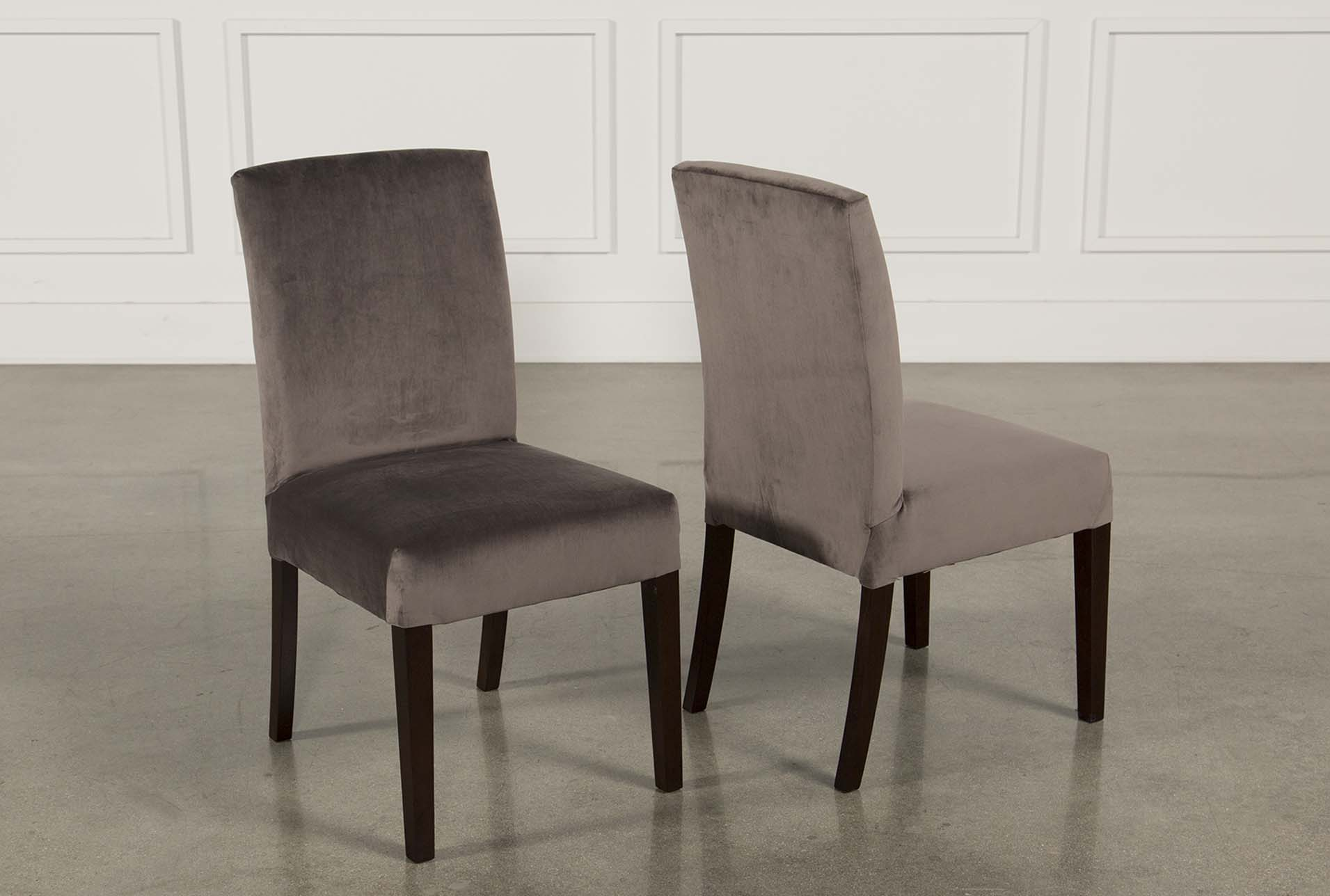 Garten Caviar Chairs W/Espresso Finish Set Of 2 (Qty: 1) Has Been  Successfully Added To Your Cart.