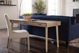 Garten Linen Chairs W/Greywash Finish Set Of 2 - Room