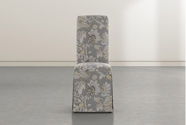 Garten Granite Skirted Dining Side Chairs Set Of 2