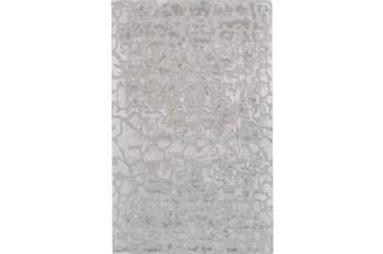 24X36 Rug-Silver Pebbles