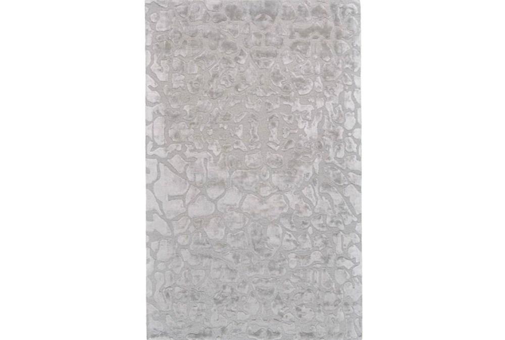 60X96 Rug-Silver Pebbles