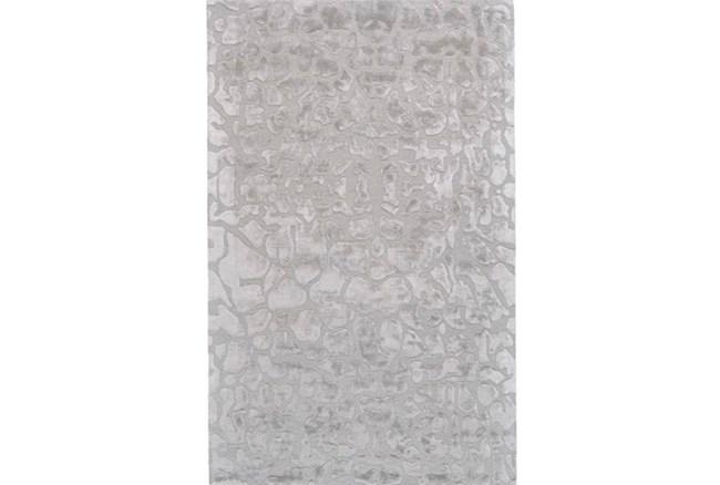 60X96 Rug-Silver Pebbles - 360