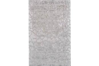 138X162 Rug-Silver Pebbles