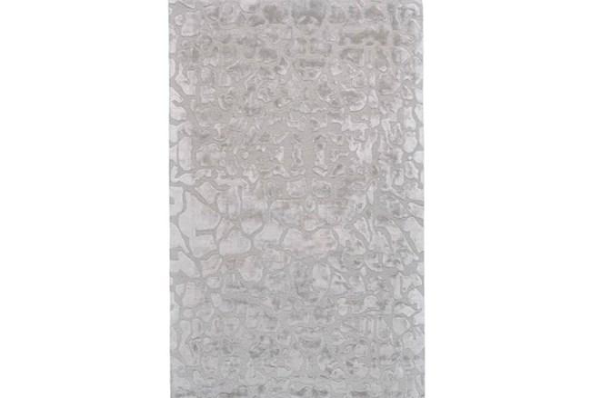 138X162 Rug-Silver Pebbles - 360