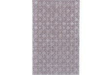 60X96 Rug-Beige Woven Cane