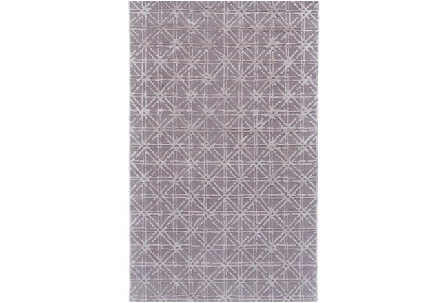 60X96 Rug-Beige Woven Cane - 360