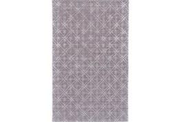 60X96 Rug-Grey Woven Cane