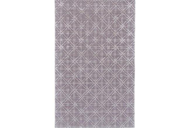 60X96 Rug-Grey Woven Cane - 360