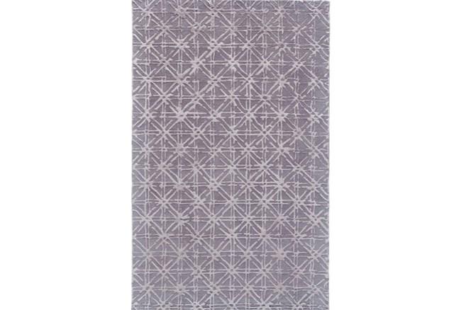 96X132 Rug-Grey Woven Cane - 360