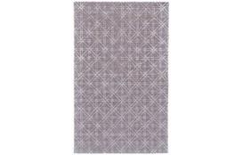 42X66 Rug-Grey Woven Cane