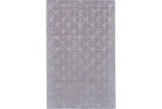 42X66 Rug-Blue Woven Cane