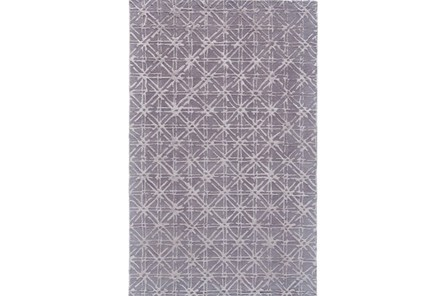 24X36 Rug-Grey Woven Cane