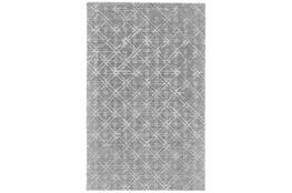 2'x3' Rug-Grey Woven Cane