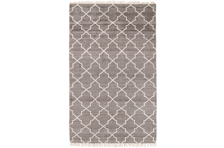 60X96 Rug-Trellis Brown - Main
