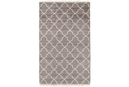 96X120 Rug-Trellis Brown