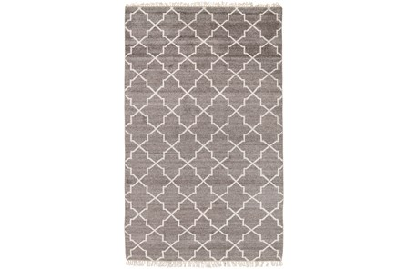 96X120 Rug-Trellis Brown - Main