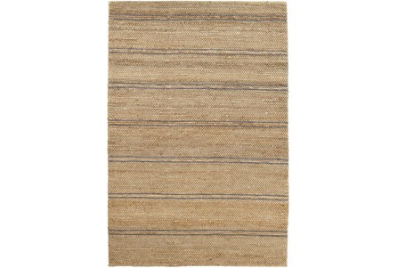 96X120 Rug-Marina Stripe Grey