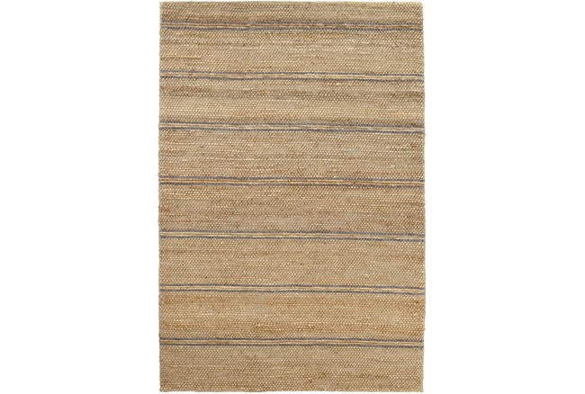 96X120 Rug-Marina Stripe Grey - 360