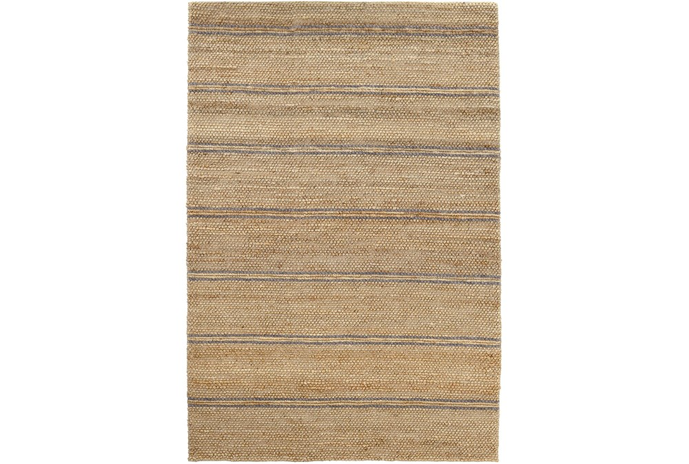 60X96 Rug-Marina Stripe Grey