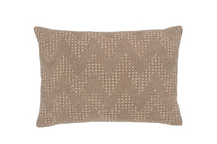 Accent Pillow-Classic Chevron Natural 14X20 - Main
