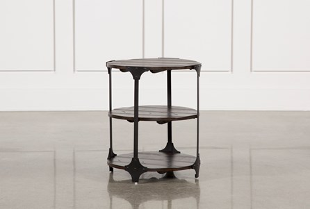 Miles Round Accent Table