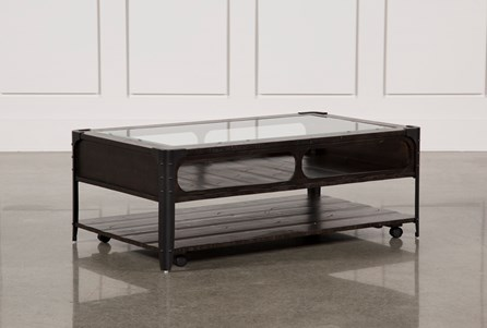 Miles Cocktail Table W/Casters