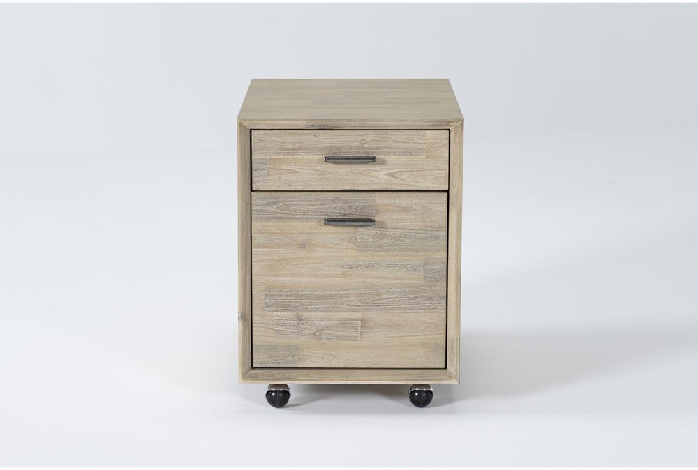 Allen Mobile Filing Cabinet With 2 Drawers