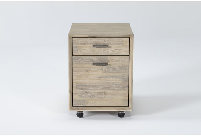 Allen Mobile Filing Cabinet With 2 Drawers - 360