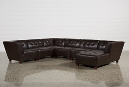 Maxine 6 Piece Sectional W/Raf Chaise