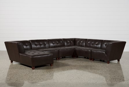 Maxine 6 Piece Sectional W/Laf Chaise