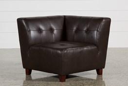 Maxine Leather Corner Chair