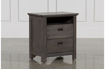 "Owen Grey 27"" Nightstand"