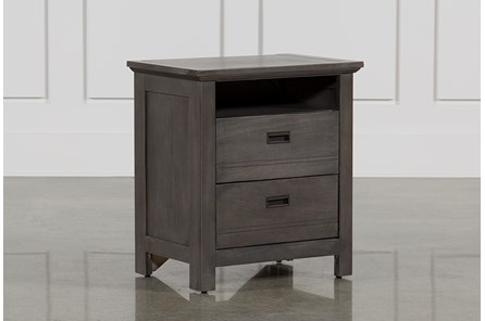 Owen Grey Nightstand