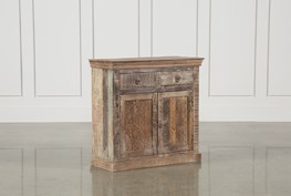 39 Inch 2-Drawer Accent Cabinet