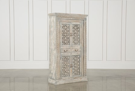 2-Drawer Accent Cabinet