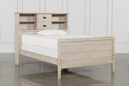 Owen Sand Full Bookcase Bed W/No Storage
